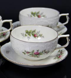 Rosenthal Sanssouci Moosrose Teacup with saucer**