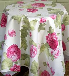 Table Cloth with Roses***