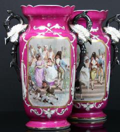 Limoges, France  2 big Vases/ 34 cm**