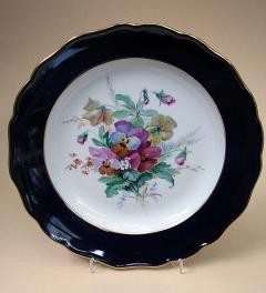 Meissen decorative plate with plates***