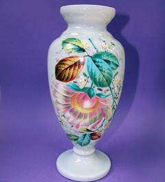 Glass Vase Art Nouveau***