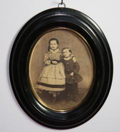 Antique picture of Maria and Paul**