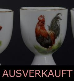 6 Antique Egg Cup/ Beyer & Bock**