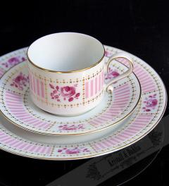 Heinrich/ Selb coffee set rote Rose**