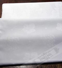 WhiteTable Cloth monogrammed**