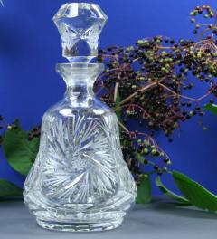 Antique crystal decanter Silvia***