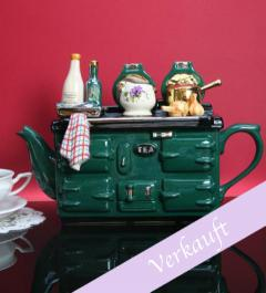 New/English tea pot stove*