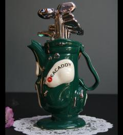 New/English tea pot Golfbag*