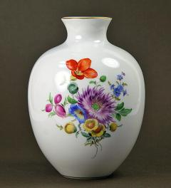 Vase Meissen with floral decor**