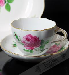 Meissen Collection Cup Rote Rose**