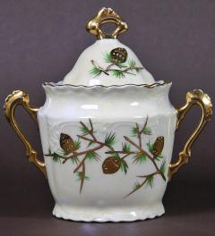 Hand painted Sugar Bowl **