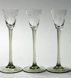 3 antique liqueur glass***