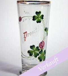"Antique tumbler ""Prosit""**"