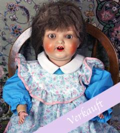 Antique porcelain-head doll Heubach/ Amalie**