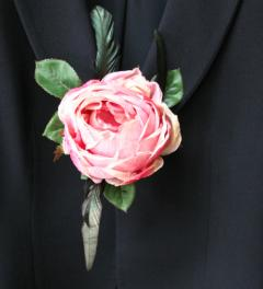 Rose Brooch Aimée Bloom*