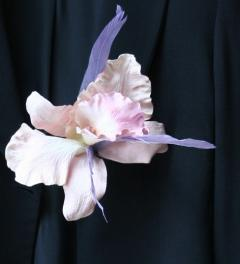 Orchid Brooch Aimée Bloom*
