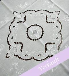 Table Cloth with eyelet embroidery***