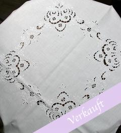 Table Cloth eyelet embroidery*