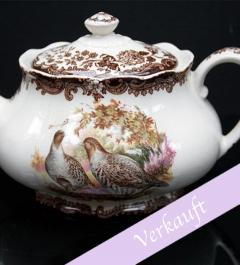 Jagdservice/The Royal Worcester Group/ Palissy Game/ Teeservice für 6 Personen***