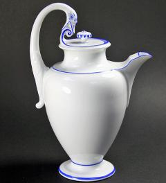 Swan handle pot Meissen**