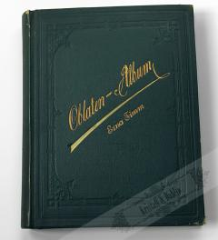 Antik Oblaten Album/ Glanzbilder  um 1900**