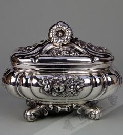Silver Sugar Bowl 19th century**