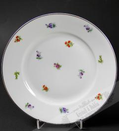 Thomas porcelain flower plate**