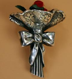 Antique Silver bouquet***