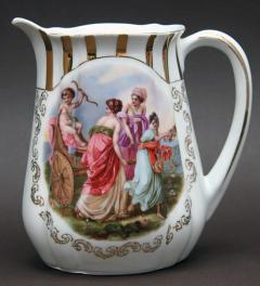Old Porcelain Pitcher ***