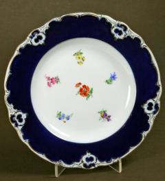 Meissen decorativ plate with flowers***