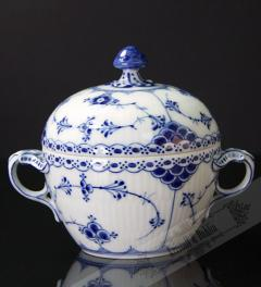 Royal Copenhagen/ sugar bowl Musselmalet Vollspitze**