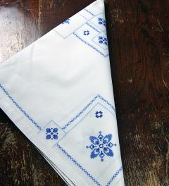 Table Cloth hand made 80 X 80 cm**