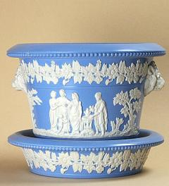 Wedgwood Flower Pot**