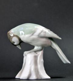 Antique porcelain bird/Gotha Fr. Pfeffer 1920**