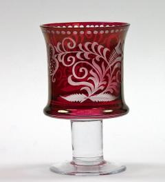 Antique Bohemian Glass ***