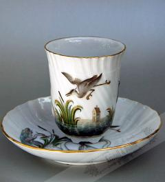 Meissen Drinking Cup with Saucer**
