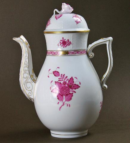 Herend coffee pot**