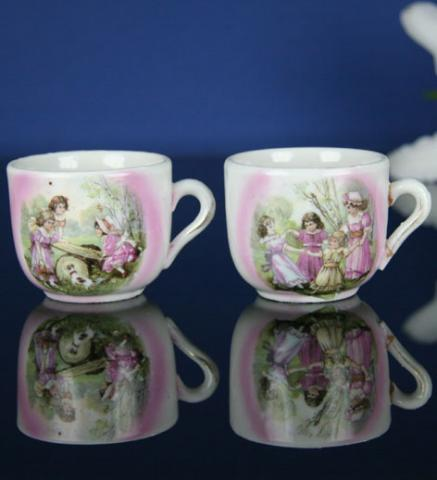 2 Children's Teacups 1900***