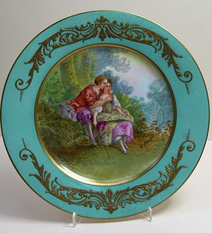 Decorative plate from 19th century No.1**