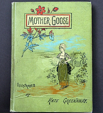 Altes englisches Kinderbuch/ Mother Goose**