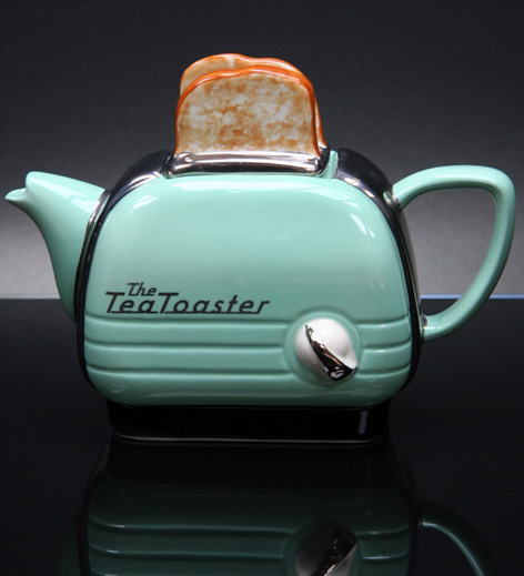 New/English Tea pot toaster*