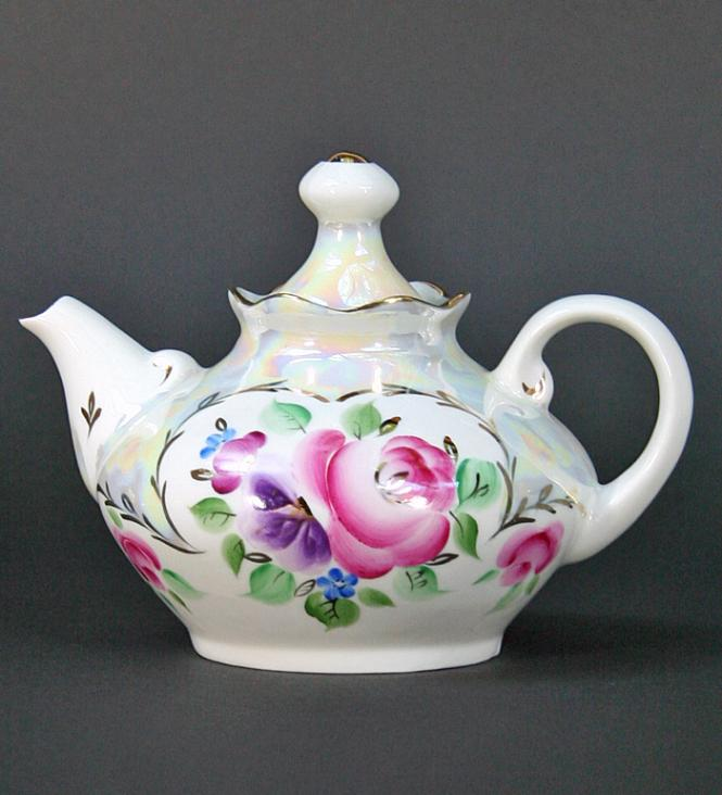 Perlmutt Tea pot**