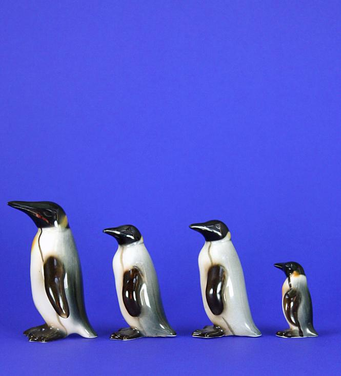 Goebel/ 4 Pinguine **